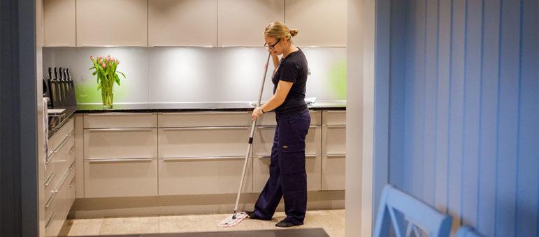 holde kjøkkenet rent