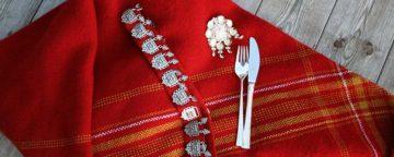 bunadsøljer og sølvtøy