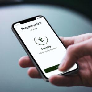 Unloc app på mobil